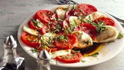 Fresh Mozzarella and Tomato