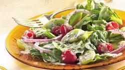 Raspberry-Poppy Seed Salad