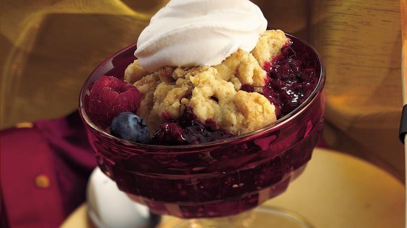 Merry Berry Cobbler