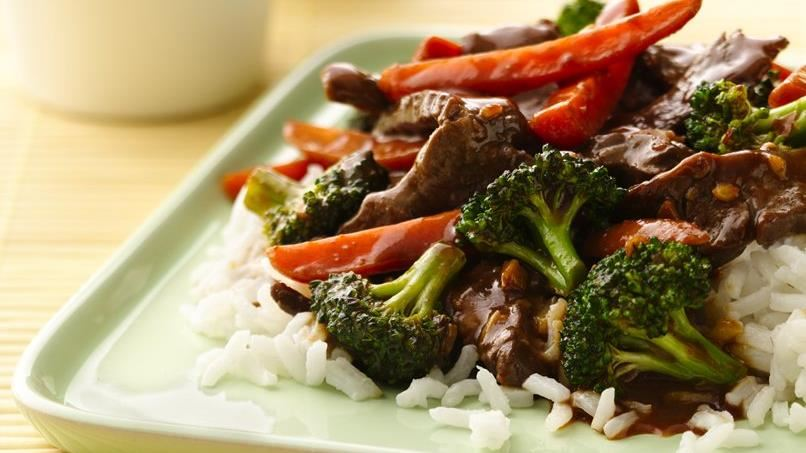Stir-Fry Beef and Broccoli