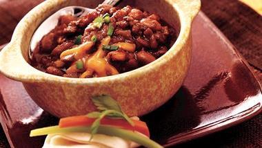 Slow-Cooker Salsa Chili