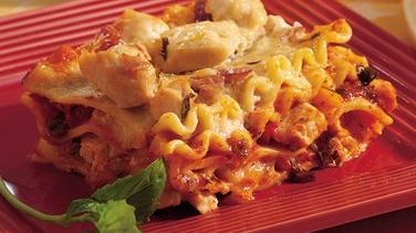 Chicken-Prosciutto Lasagna