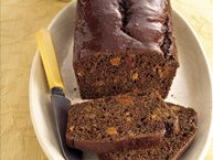 Boston Brown Bread with Dried Fruit