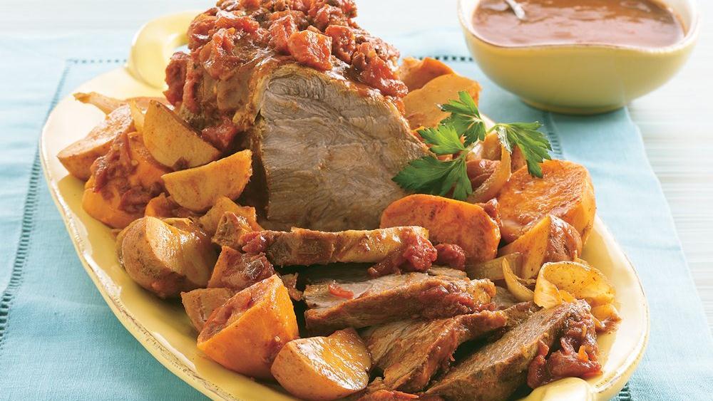 Slow-Cooker Chipotle Pork Roast