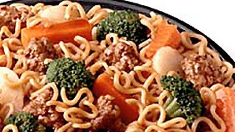 Ramen Noodle Stir-fry