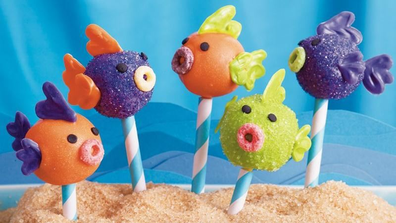 School of Fish Cake Pops