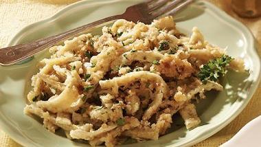 Parsley Noodles with Parmesan