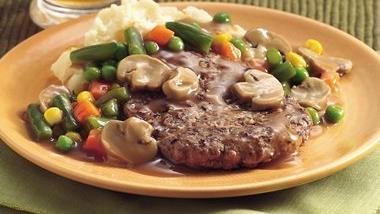 Veggie Salisbury Steak