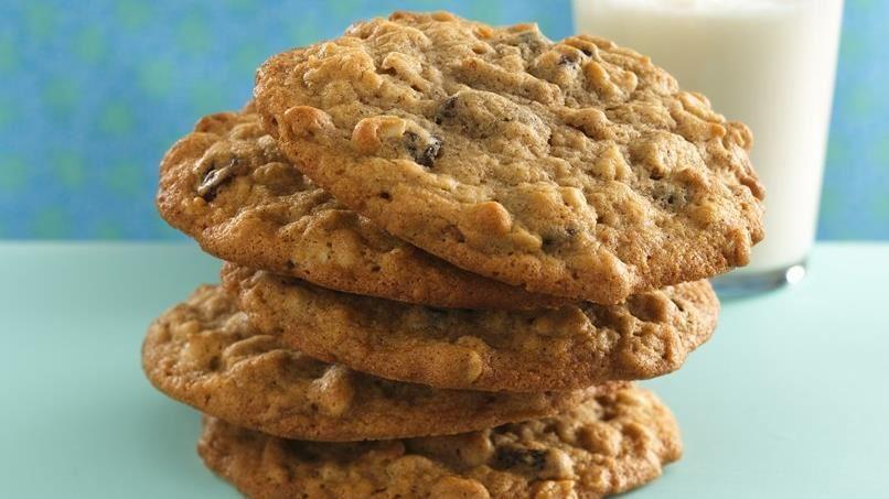 Old-Fashioned Oatmeal-Raisin Cookies