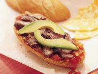 Grilled Southwest Steak and Salsa Sandwiches