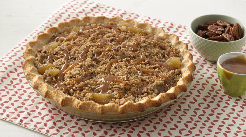 Extra Easy Caramel Apple Pie