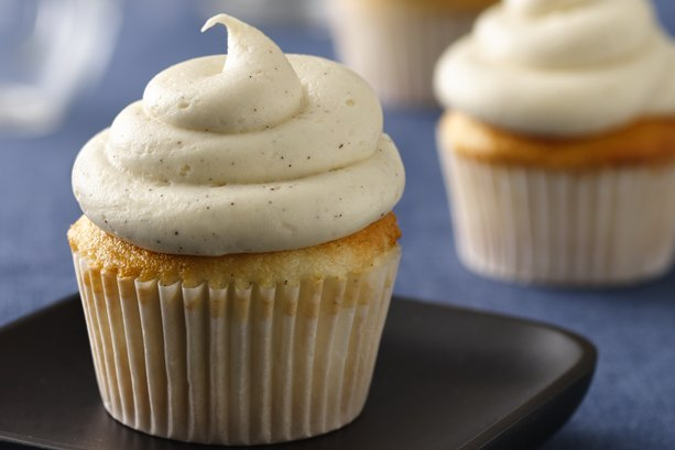 Vanilla Bean Cupcakes with Brown Butter Icing