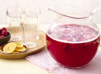 Sparkling Raspberry Lemonade (Crowd Size)