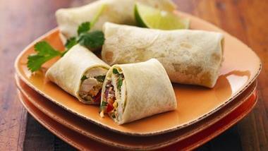 Chicken Mini Burritos