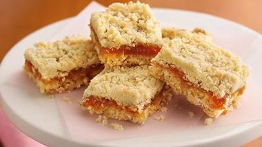 Apricot-Caramel-Coconut Bars