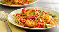 Sriracha Shrimp Fried Rice