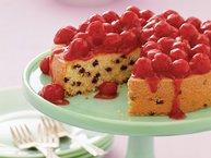 Cherry Chocolate Chipper Cake