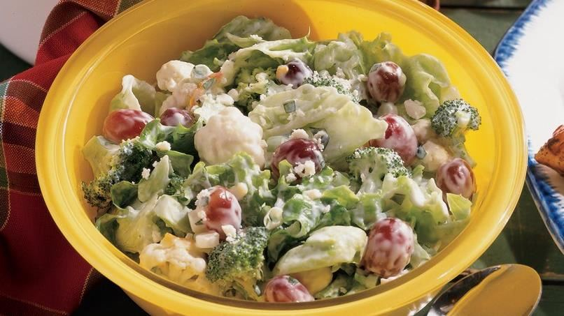 Layered Garden Salad
