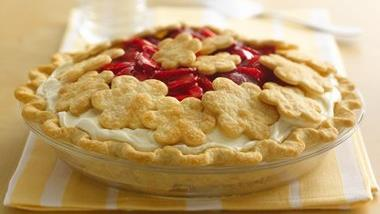 Strawberry Marshmallow Pie