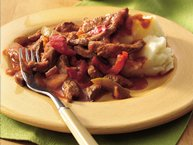Gluten-Free Italian Beef with Mashed Potatoes