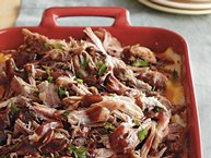 Loaded Barbecue Baked Potato Casserole