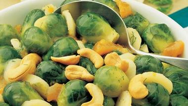 Apricot-Glazed Brussels Sprouts