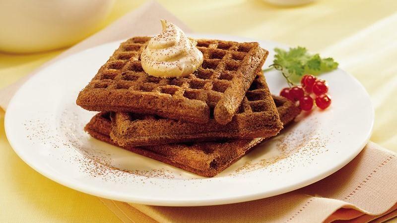 Tiramisu Waffles