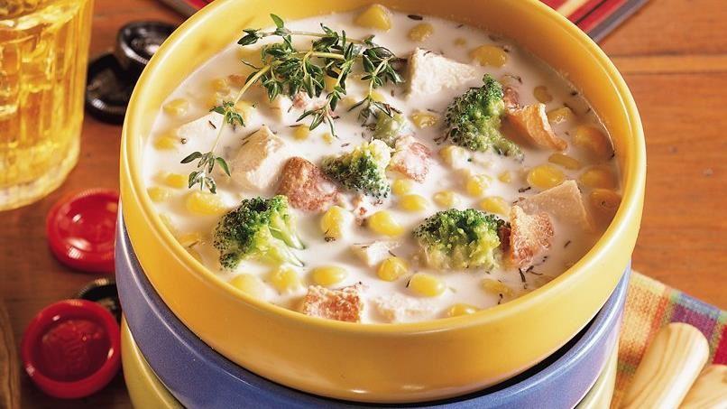 Chicken and Vegetable Chowder