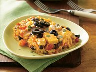 Cheesy Chicken-Tortilla Lasagna