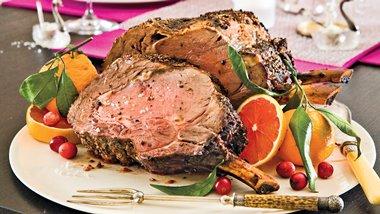 Fennel-Crusted Rib Roast