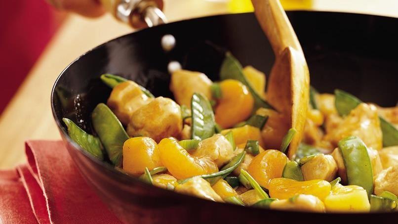 Mandarin Chicken Stir-Fry