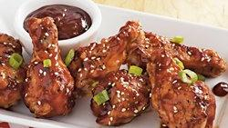 Slow-Cooker Spicy Asian Barbecued Drummettes