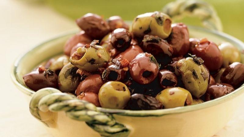Italian Sautéed Olives