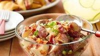 Tangy Potato Salad with Bacon