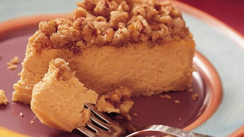 Sweet Potato Cheesecake recipe from Betty Crocker