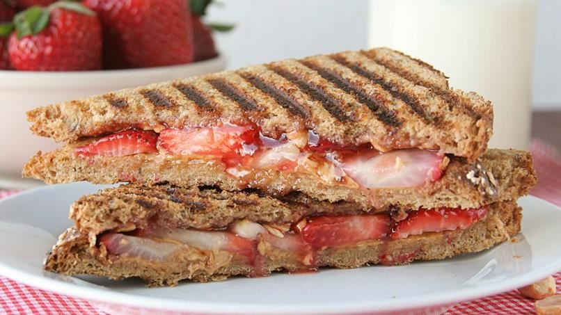 Grown-Up PB & J Sandwich