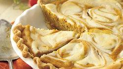 Pumpkin-Cream Cheese Pie