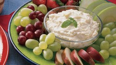 Sweet and Creamy Dip for Fruit