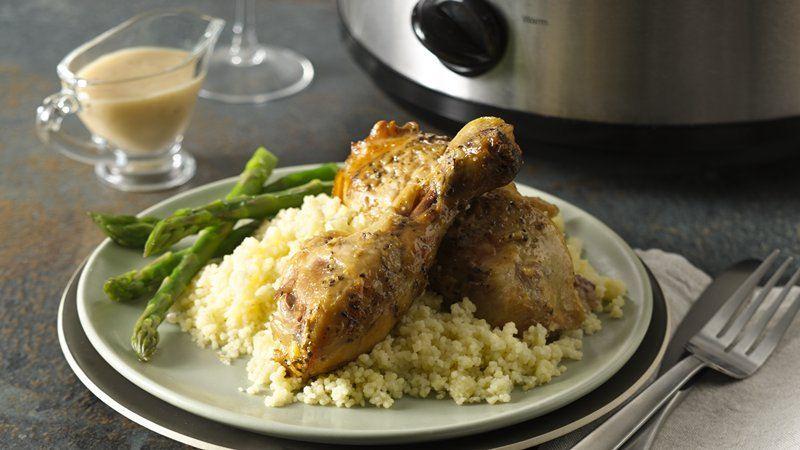 Slow Cooker Creamy Roasted Garlic Chicken