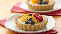 Creamy Fruit Tarts