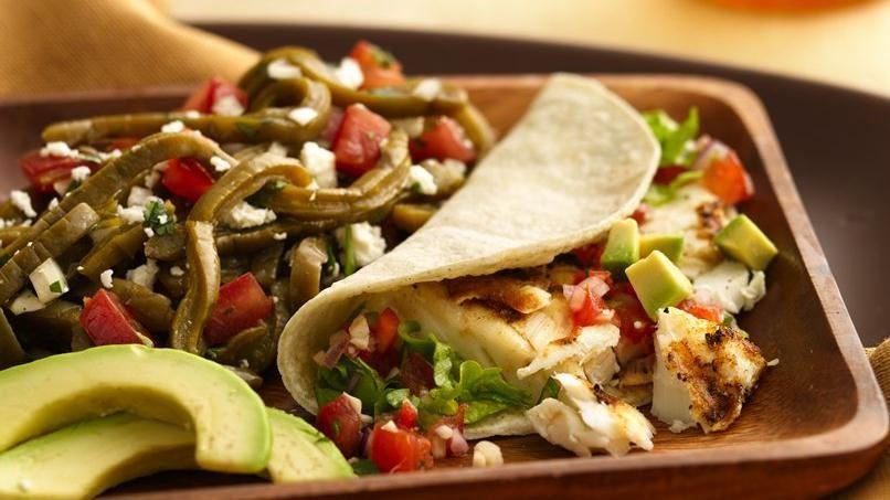 Tacos Asados de Pescado