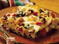 Cheesy Roasted-Vegetable Lasagna