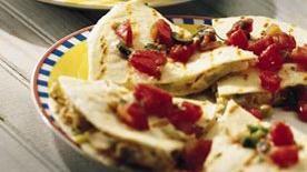 Easy Homemade Chicken Quesadillas Recipe