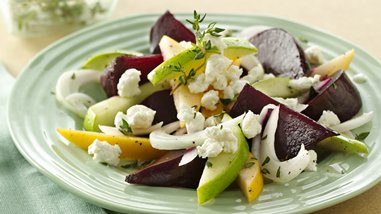 Gluten-Free Beet and Apple Salad with Goat Cheese