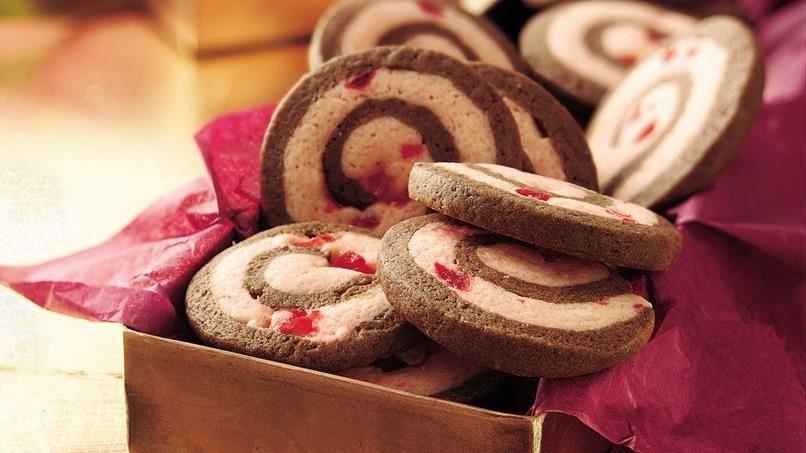 Chocolate-Cherry Pinwheels