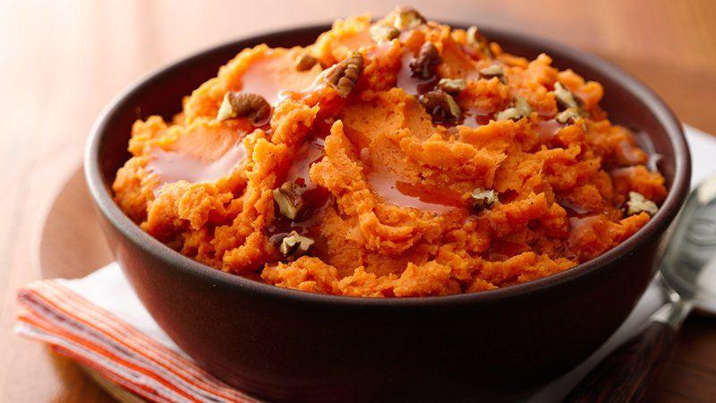 Whipped Maple Sweet Potatoes