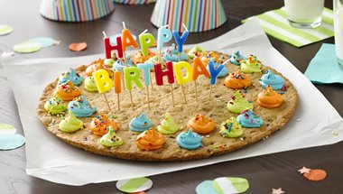 Big Birthday Cookie