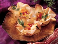 Curried Sweet Potato Wontons