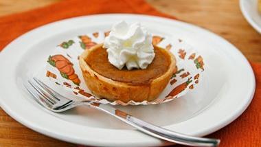Bourbon-Pumpkin Pie Bites