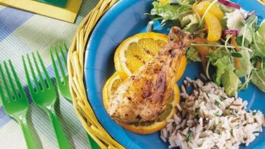 Gingered Orange Grilled Chicken
